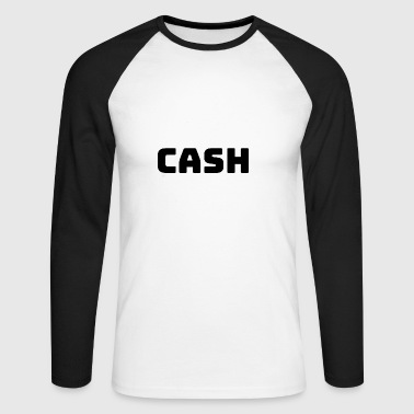 Cash! - Langermet baseball-skjorte for menn