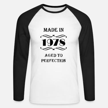 1978 Made in 1978 - T-shirt baseball manches longues Homme