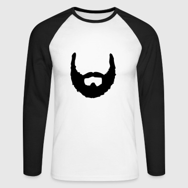 Beard Beard ☆ beards ☆ bearded ☆ hairy - Men's Long Sleeve Baseball T-Shirt