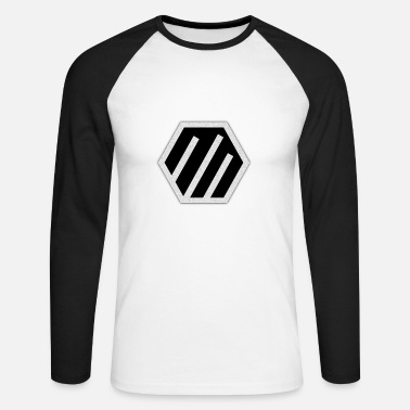 Silver silver 3 - Men's Long Sleeve Baseball T-Shirt