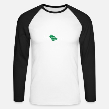 Arabia Saudi Arabia - Men's Long Sleeve Baseball T-Shirt