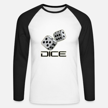 Dice DICE - DICE - Men's Long Sleeve Baseball T-Shirt