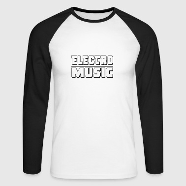 Electro ELECTRO - Men's Long Sleeve Baseball T-Shirt