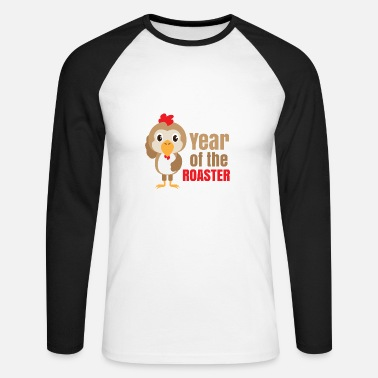 Chinese Zodiac Chinese zodiac year of the rooster - Men's Long Sleeve Baseball T-Shirt