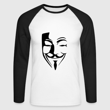 anonymous - T-shirt baseball manches longues Homme