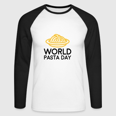 World Pasta Day - Men's Long Sleeve Baseball T-Shirt