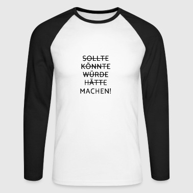 Motivation - motivation - T-shirt baseball manches longues Homme
