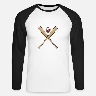 Baseball baseball - Men's Long Sleeve Baseball T-Shirt