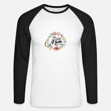 Fête Des Mères Fête des mères Fête des mères Fête des mères - T-shirt baseball manches longues Homme