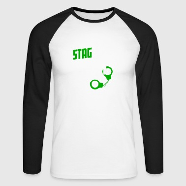 Stag Night STAG DO - Men's Long Sleeve Baseball T-Shirt