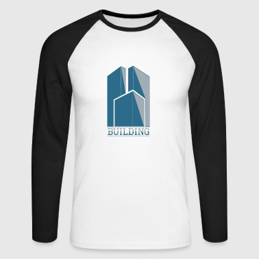 Building building - Men's Long Sleeve Baseball T-Shirt