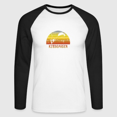 Kiteboard kiteboarding - Men's Long Sleeve Baseball T-Shirt