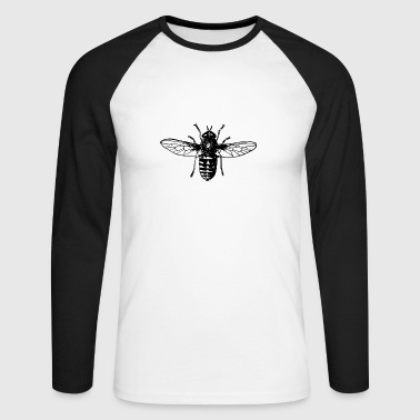 Fly Fly - Men's Long Sleeve Baseball T-Shirt