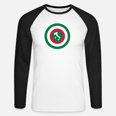 Italy Italia - Men's Long Sleeve Baseball T-Shirt