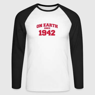 (de) on earth since 1942 (fr) - T-shirt baseball manches longues Homme