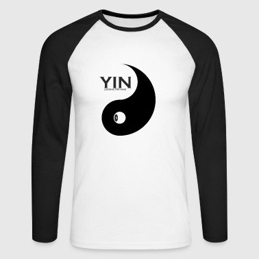 Yang as a couple design Yin is looking for couples - Men's Long Sleeve Baseball T-Shirt