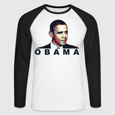 obama - T-shirt baseball manches longues Homme
