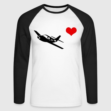 Corazon airlove - T-shirt baseball manches longues Homme