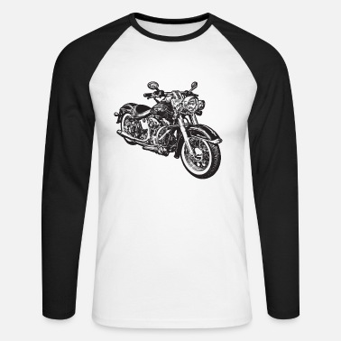 Chopper chopper hog bike motorrad - Men's Long Sleeve Baseball T-Shirt