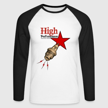 high performance - T-shirt baseball manches longues Homme