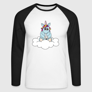 Unicorn happiness - T-shirt baseball manches longues Homme