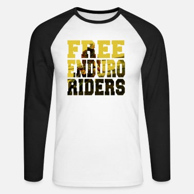 Rider Free ENDURO - T-shirt baseball manches longues Homme