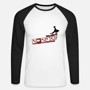 B Boying b-boy - Men's Long Sleeve Baseball T-Shirt