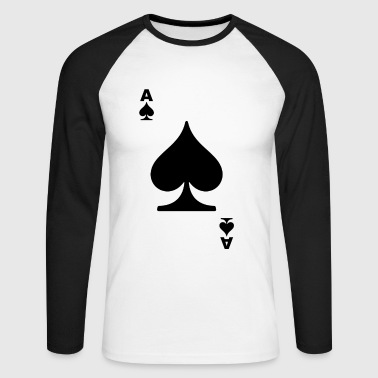 poker card - T-shirt baseball manches longues Homme