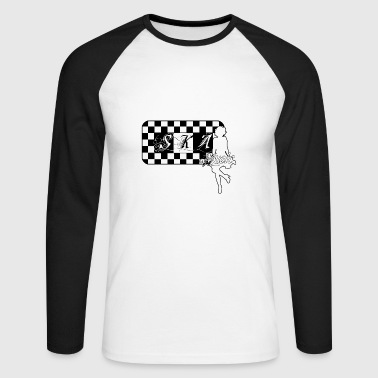 Ska Dance Music Dance Music - Men's Long Sleeve Baseball T-Shirt