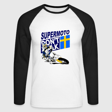 Supermoto Racing - T-shirt baseball manches longues Homme