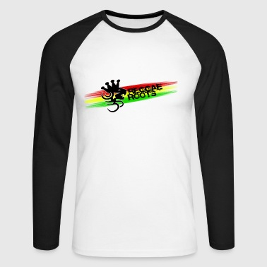 reggae roots - T-shirt baseball manches longues Homme