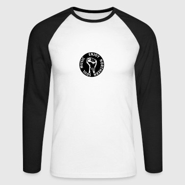 1 colors - Enjoy Northern Soul Music - nighter keep the faith - Men's Long Sleeve Baseball T-Shirt