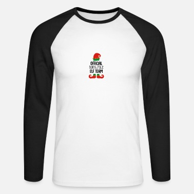 North Yorkshire Official North Pole - Men's Longsleeve Baseball T-Shirt