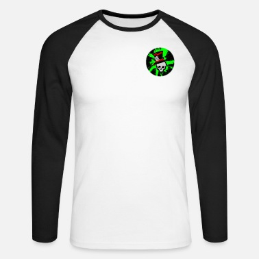 Doichy Mad Skullz Logo - Men's Longsleeve Baseball T-Shirt