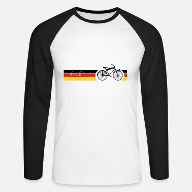 National Vélo National Colors National Germany Gift - T-shirt manches longues baseball Homme