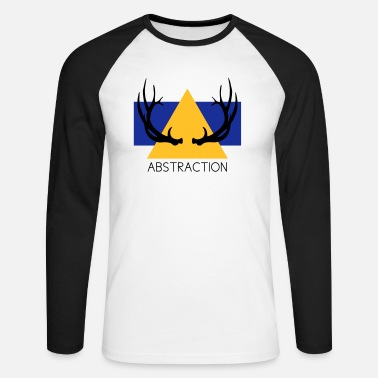 Abstraction Abstraction - T-shirt manches longues baseball Homme