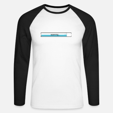Scan scanning - Men's Longsleeve Baseball T-Shirt
