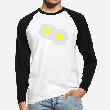 Eggs egg - Men's Longsleeve Baseball T-Shirt