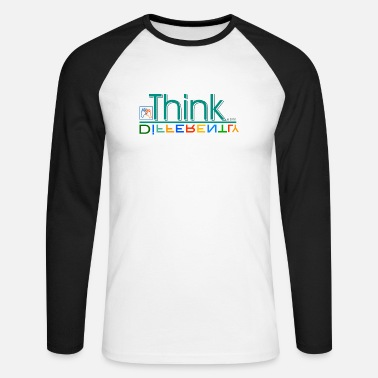 Different Think differently - Men's Longsleeve Baseball T-Shirt