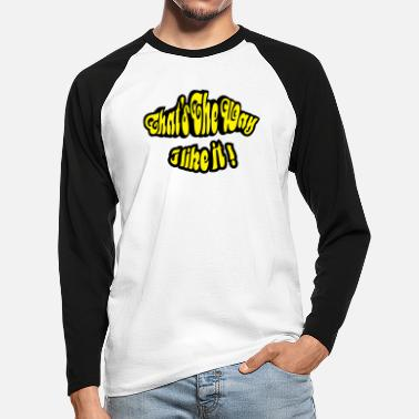 Thats the Way 2C - T-shirt manches longues baseball Homme