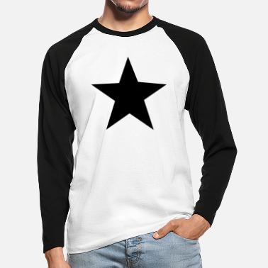 Star the star - Mannen baseball longsleeve