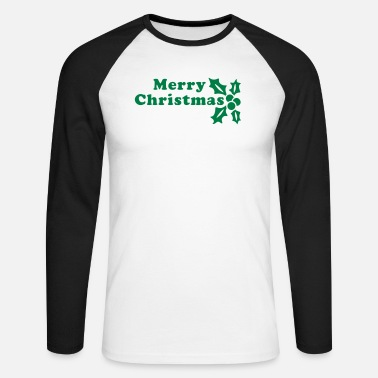 Merry Christmas Merry Christmas - T-shirt manches longues baseball Homme