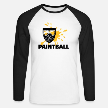 Paintball Paintball - Maglietta maniche lunghe baseball uomo
