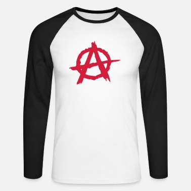 Anarchy - T-shirt manches longues baseball Homme