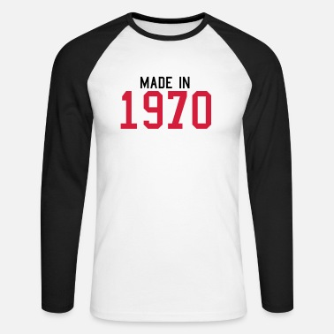 1970 - Men's Longsleeve Baseball T-Shirt