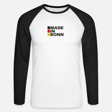 Made in Bonn ger - Men's Longsleeve Baseball T-Shirt
