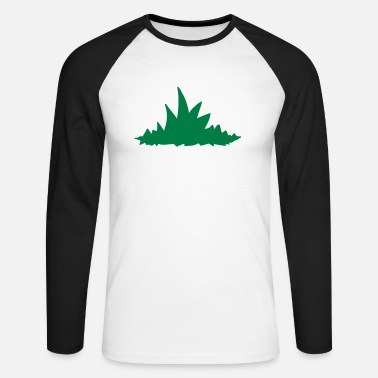 Grass Grass - Men's Longsleeve Baseball T-Shirt