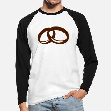 Ring Ring Ring - Men's Longsleeve Baseball T-Shirt