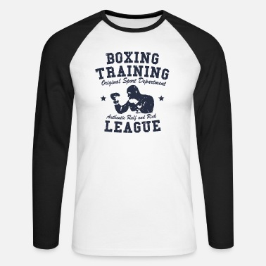 Training boxing training - T-shirt manches longues baseball Homme