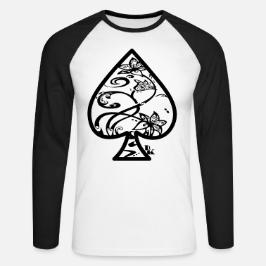 Ace Of Spades Ace of Spades door dk - Mannen baseball longsleeve